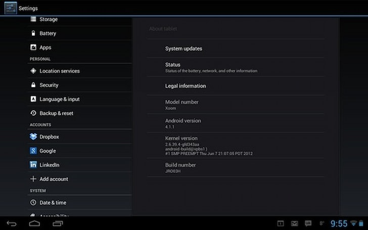 Motorola Xoom WiFi's Jelly Bean upgrade arriving for regular users