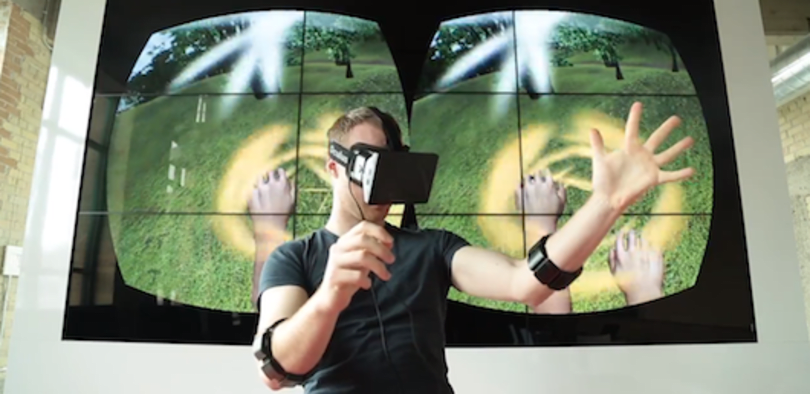 Myo replaces controllers with arm-controlled Oculus Rift gaming