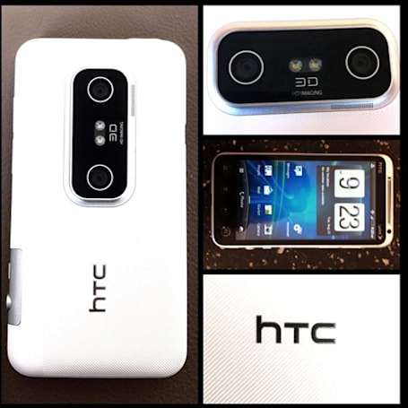White HTC EVO 3D gets exclusive RadioShack bow on September 9th