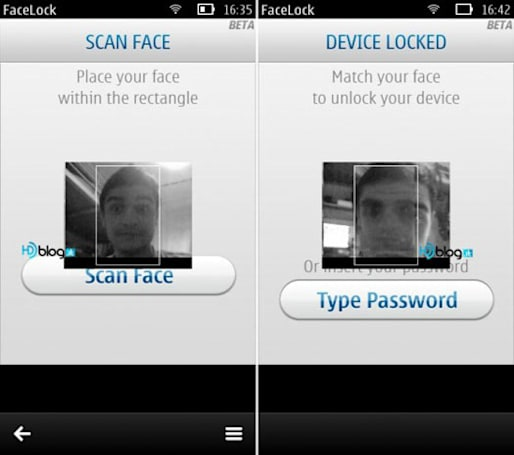 Facelock app hits the Ovi Store, Symbian handsets frame your face for security