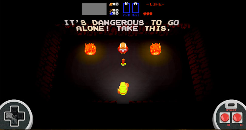 'Zelda' turns 30 and gets a browser-based tribute game