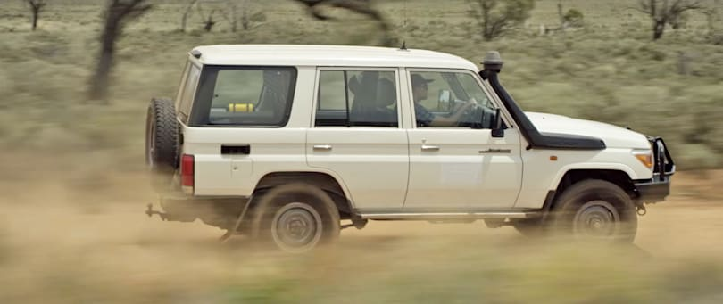 LandCruisers create communication network in the outback