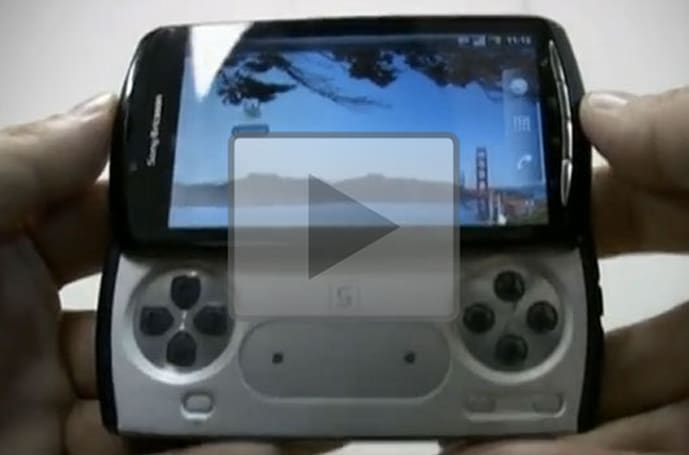 PlayStation Phone reportedly caught on (very clear) video
