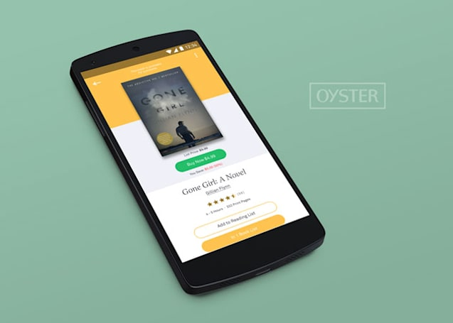 Oyster hopes you'll buy the books its subscription doesn't cover