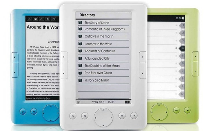 Paradigm Shift debuts $130 EER-051D e-reader