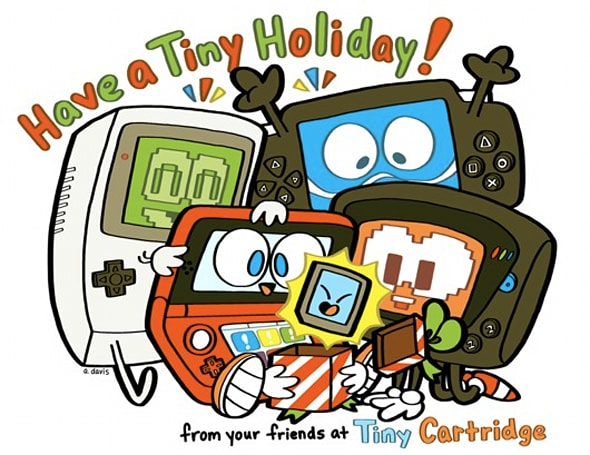 2011 game industry holiday card blowout