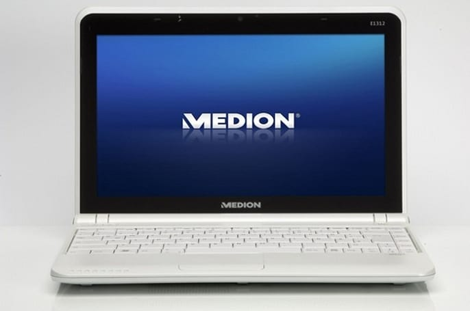Medion rolls out AMD-based Akoya Mini E1312 netbook