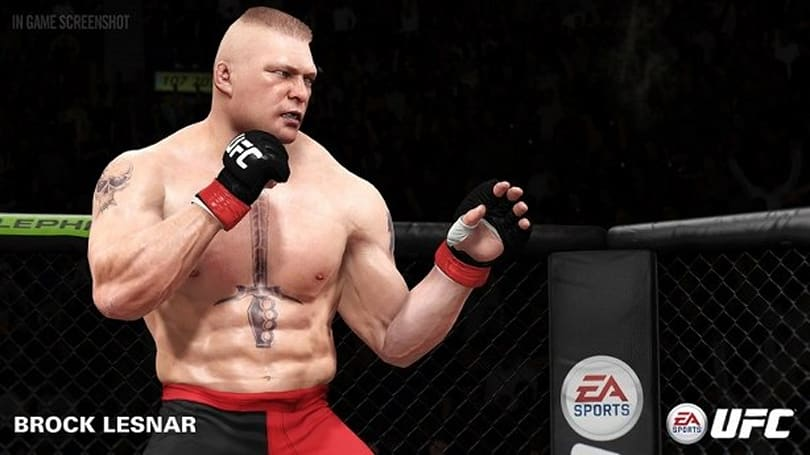 Brock Lesnar among MMA legends now in EA Sports UFC