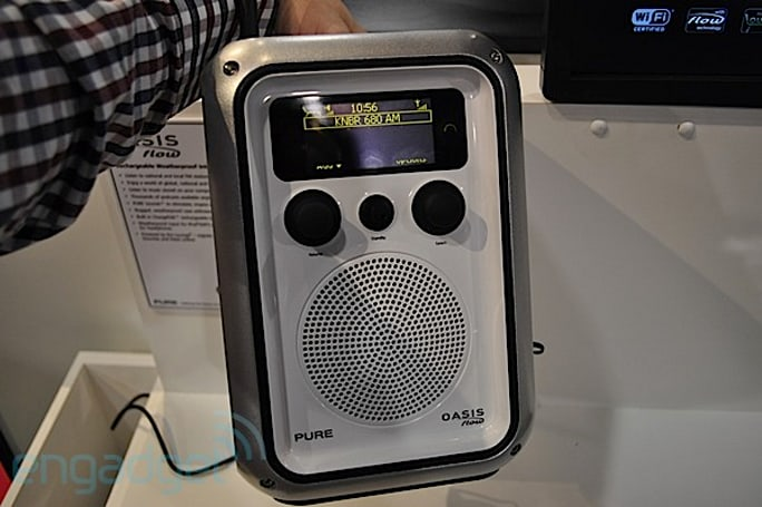 Pure Oasis, Sensia and Sirocco 550 internet radios hands-on