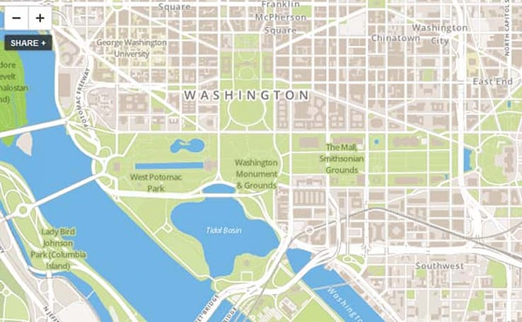 Foursquare.com checks in with OpenStreetMap, checks out of Google Maps API