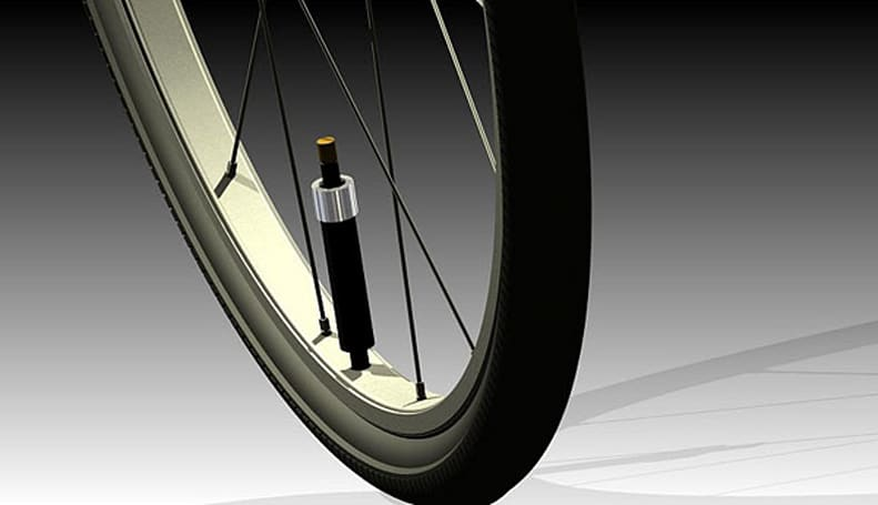 Insert Coin: PumpTire self-inflating bicycle tire