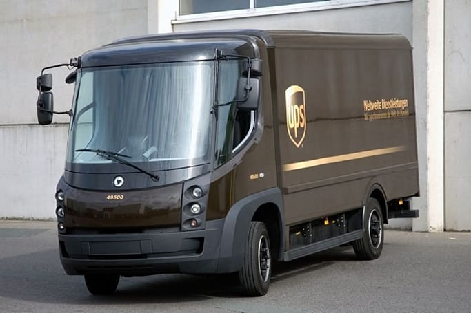 UPS takes 100 EVs on the road in California, makes delivering packages eco-friendlier
