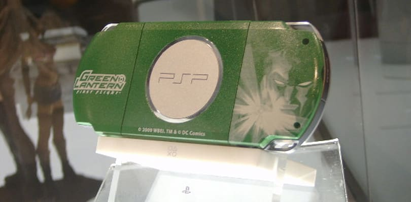 Green Lantern PSP spotted at Comic-Con