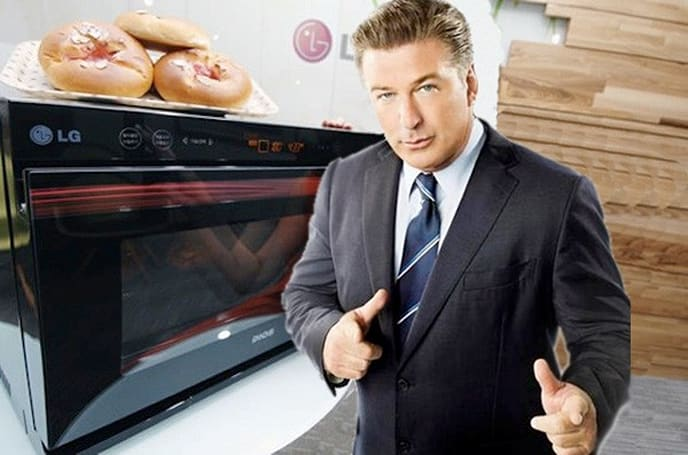 The Joy of remote-controlled Cooking: LG's Lightwave oven makes mealtime mobile-operated