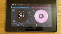 Pacemaker DJ app for BlackBerry PlayBook impressions (video)