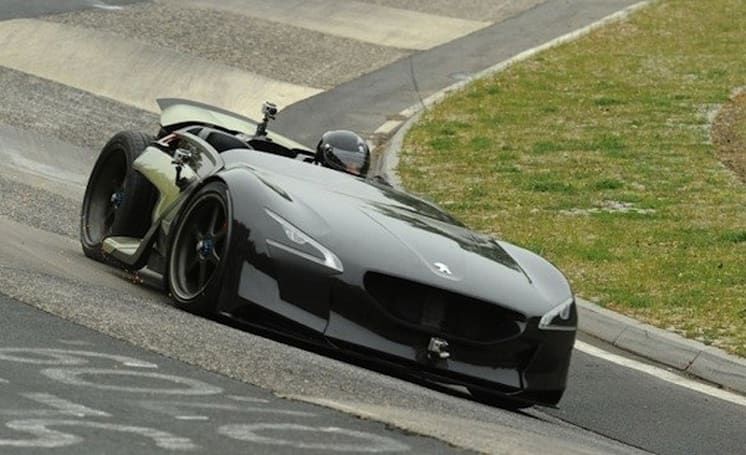 Peugeot EX1 sets new lap record for electric cars at Germany's Nürburgring circuit