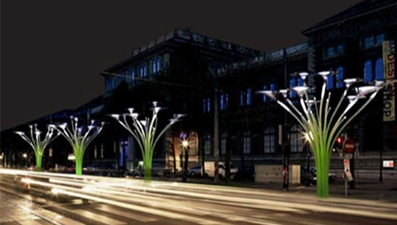 The Solar Trees of Vienna: a Lovegrove, if you will