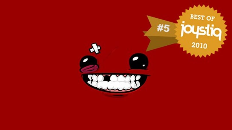 Joystiq Top 10 of 2010: Super Meat Boy