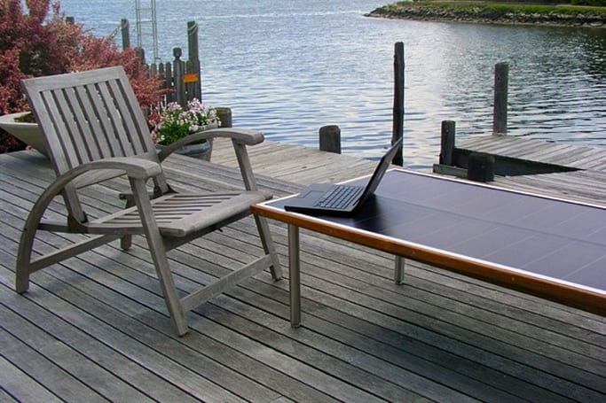 The $2,200 solar powered SunTable is now shipping
