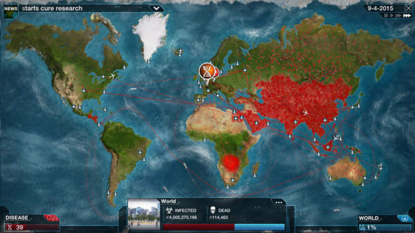 Plague Inc: Evolved catches custom scenarios on Steam