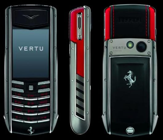 Vertu concocts a few more moneymakers: Ferrari Ascent Ti collection