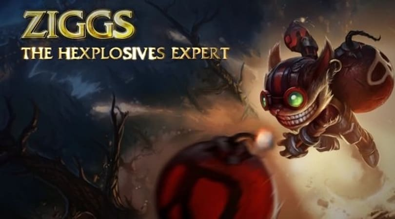 See League of Legends' Ziggs in action -- he'll blow you away