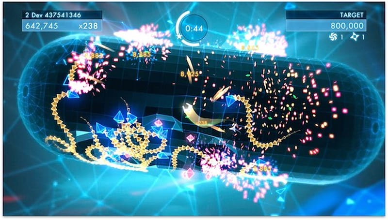 Behind-the-scenes video basks in Geometry Wars 3's glow