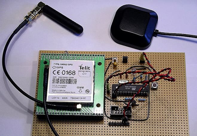 DIYer concocts homegrown GSM-GPS tracking device