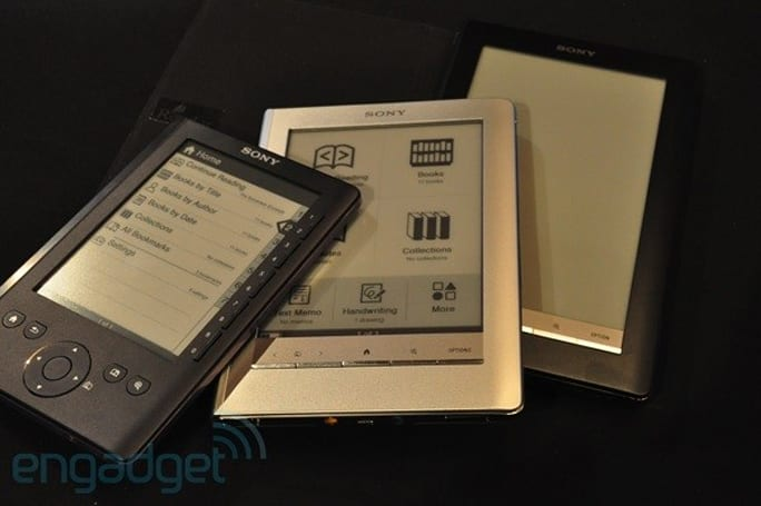 Sony e-readers get exclusive Dow Jones, New York Post content