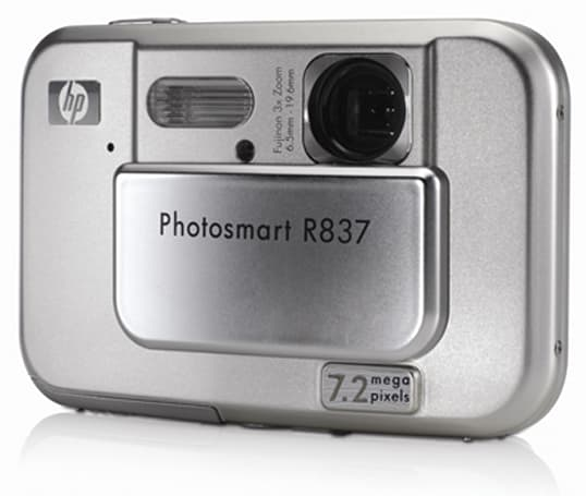 HP Photosmart R837 reviewed