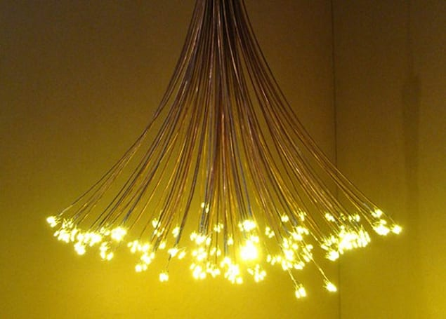 Constellation Light puts LED twist on chandelier