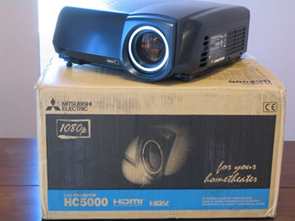 Mitsubishi HC5000 1080p projector reviewed - including a Pearl shootout
