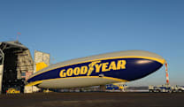 Goodyear's first new blimp design in 45 years... isn't actually a blimp