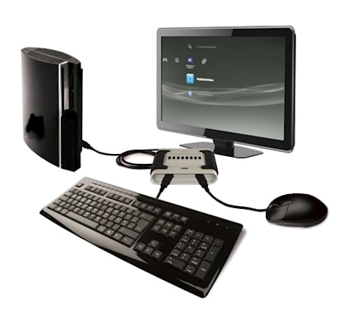 Eagle-Eye peripheral adds keyboard support to PS3 FPS games