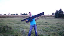 This awesome DIY railgun fires rounds with 27,000 joules of force