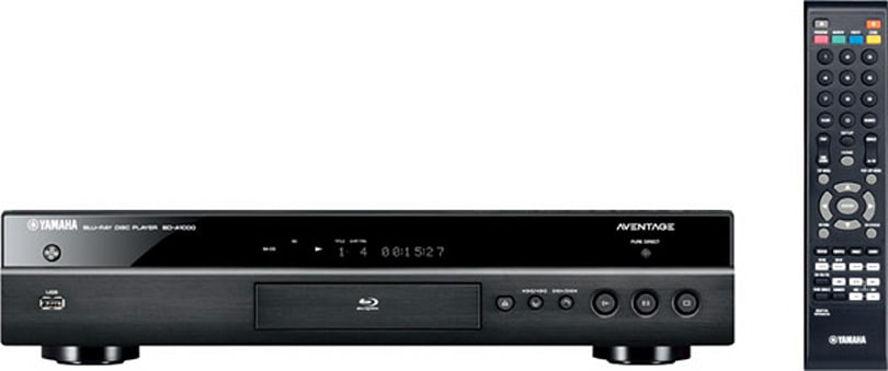 Yamaha brings Netflix, Blockbuster and YouTube access to BD-A1000 'universal Blu-ray player'