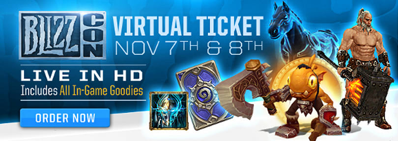 BlizzCon 2014 in-game goodies sneak peek