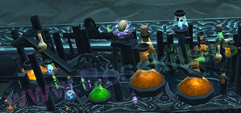 The curious case of Cataclysm potions