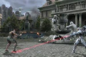 Injustice: Gods Among Us (Arena Fight Video: Aquaman Vs Cyborg)
