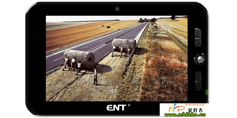 Eston's 7-inch Android MID believes it's an N97, can play full HD