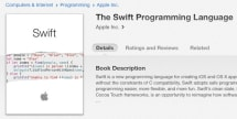 The Swift Programming Language manual available on iBookstore