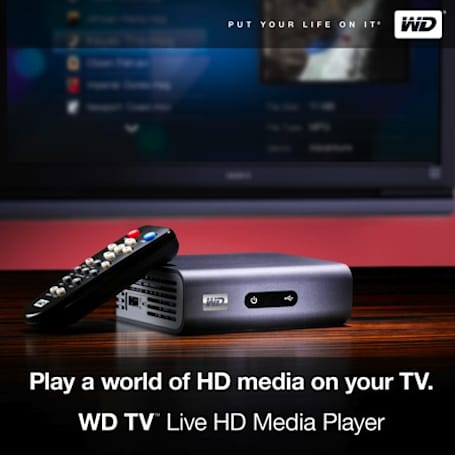 Western Digital WD TV Live HD media player gets official
