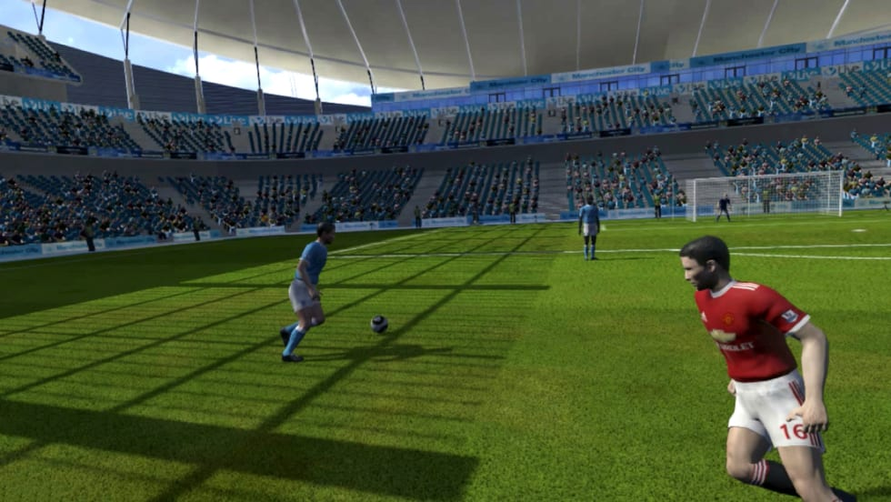A VR experience transported me to a live soccer game