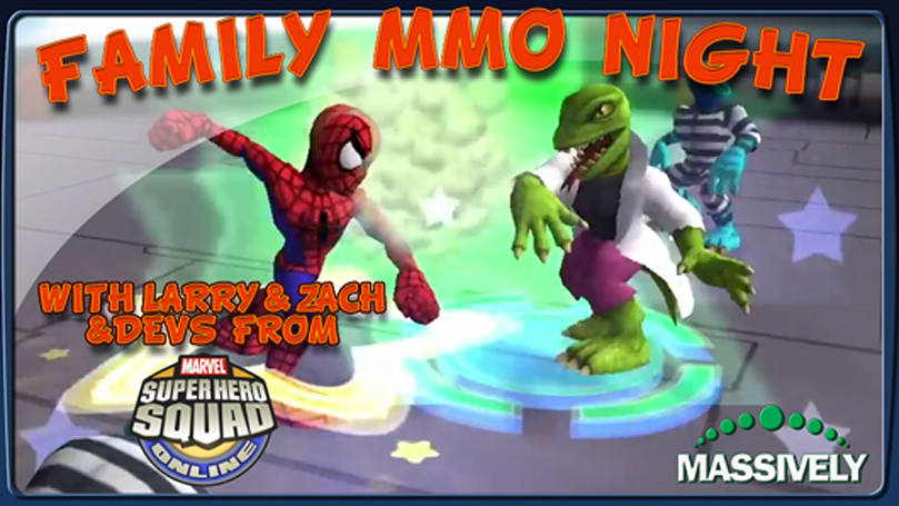 The Stream Team: Family MMO night with the Super Hero Squad Online devs