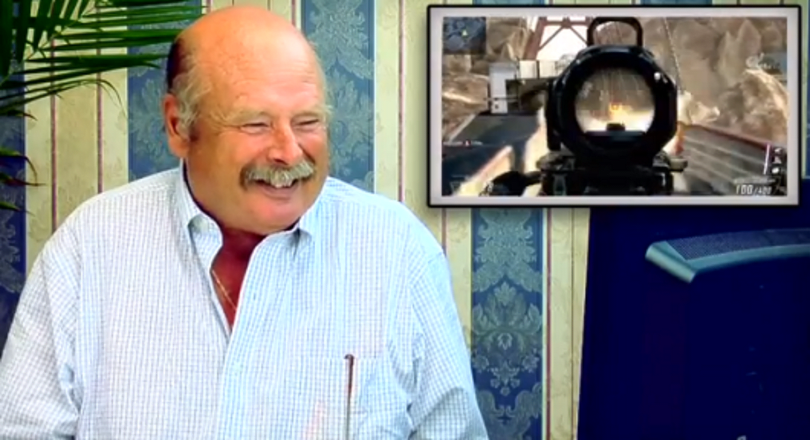 How elders react to a trailer, gameplay video of Black Ops 2