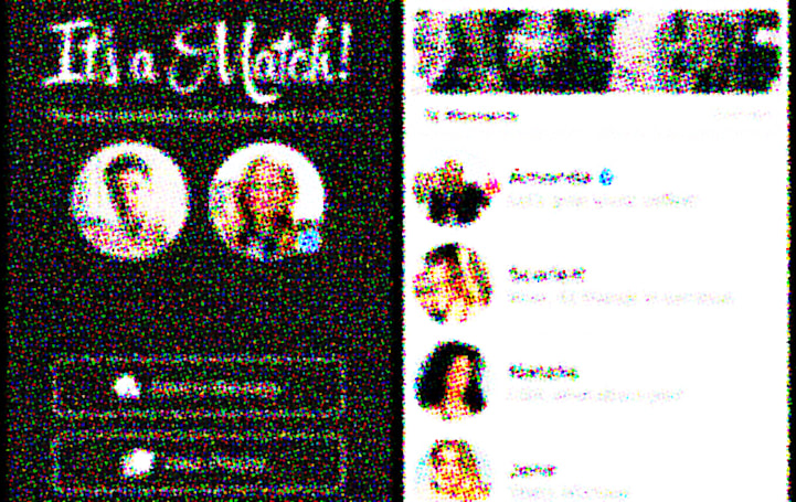Tinder gets a lo-fi makeover in 'Millennial Swipe Simulator 2015'