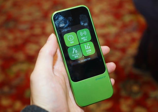 モバイルルータは「縦持ち」が最適解かもしれない。auが2月発売『Speed Wi-Fi NEXT W04』