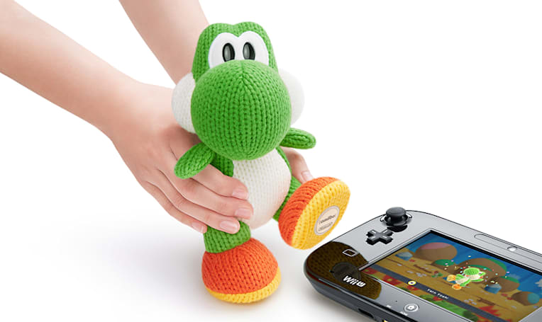 The Mega Yarn Yoshi Amiibo is coming to take over the world