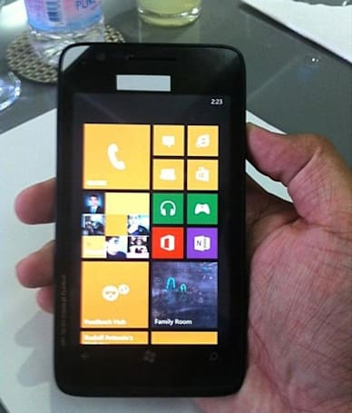 Resize a Nokia Lumia to juggernaut proportions and it might look something like this