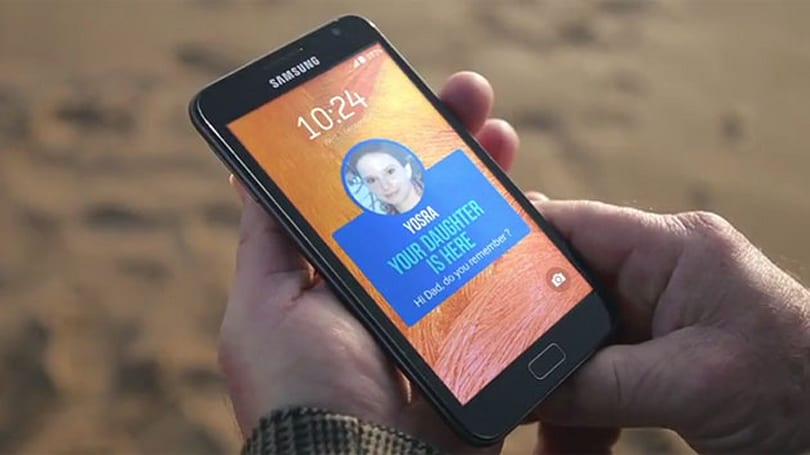 Samsung app helps Alzheimer's patients remember their families